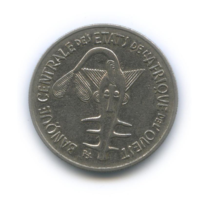 100 франков, Западная Африка 1969 года