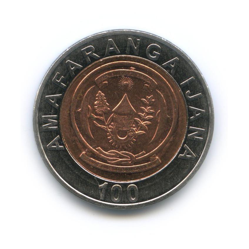 100 франков, Руанда 2007 года