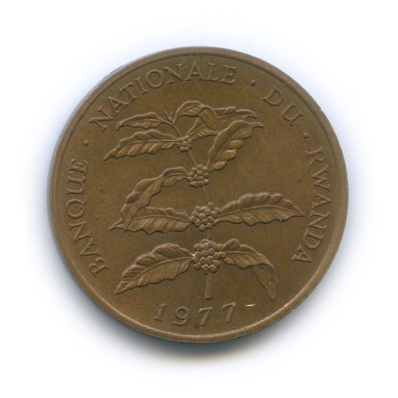 5 франков, Руанда 1977 года