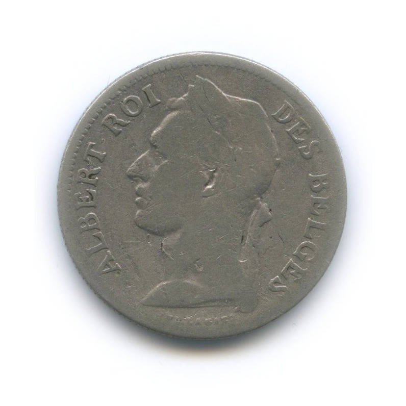 50 сантимов, Бельгийское Конго 1929 года