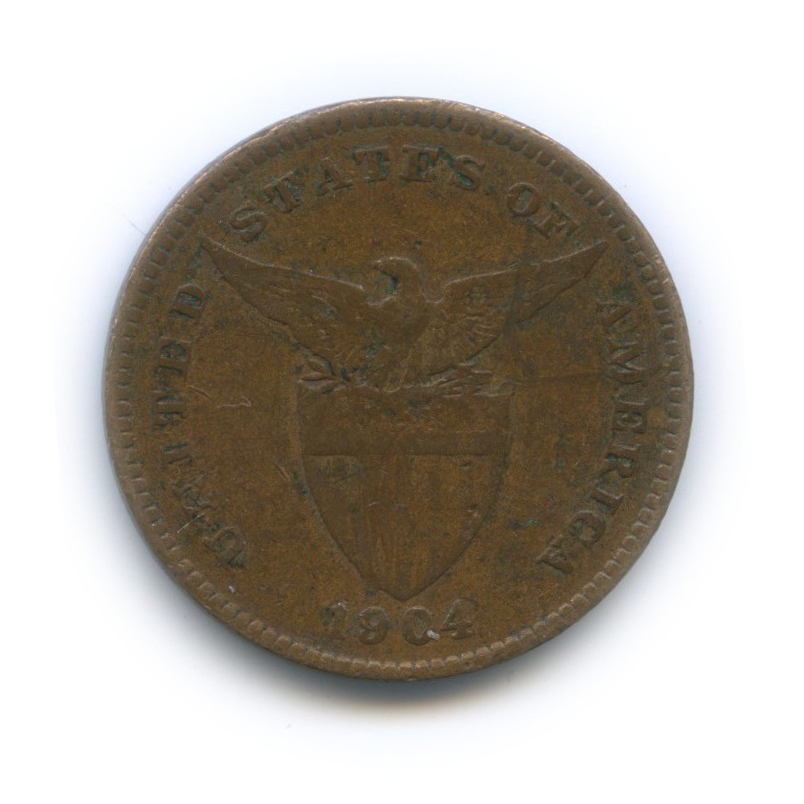 1 сентаво 1904 года (Филиппины)