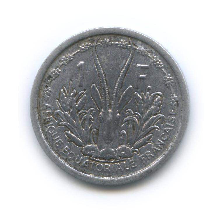 1 франк, Французская Западная Африка 1948 года
