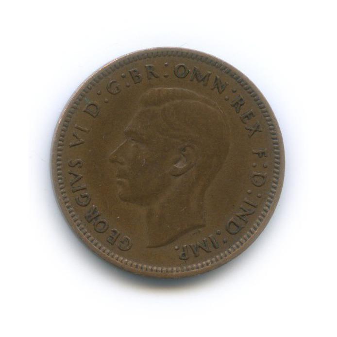 1 фартинг 1943 года (Великобритания)