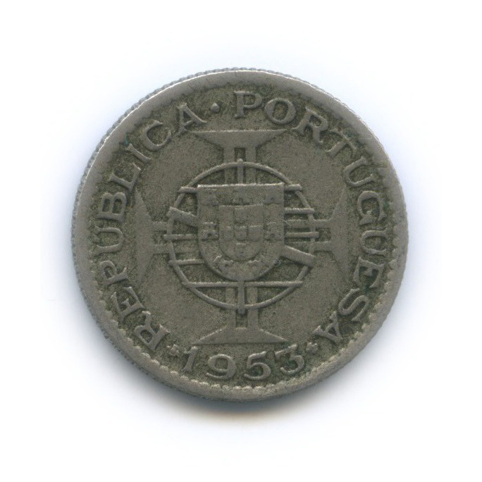 2.5 эскудо, Ангола 1953 года (Португалия)
