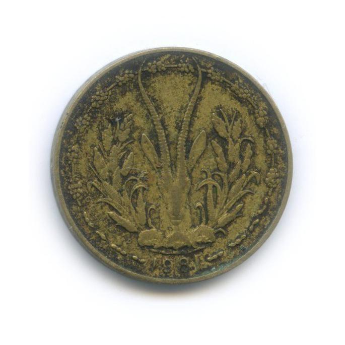 5 франков, Западная Африка 1981 года