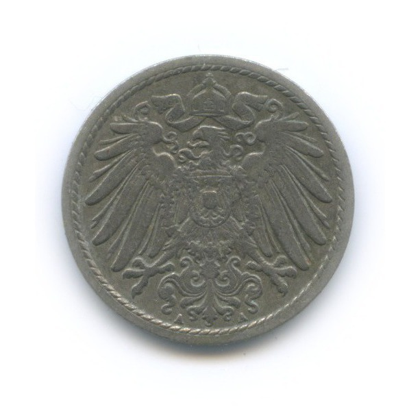 5 пфеннигов 1902 года А (Германия)
