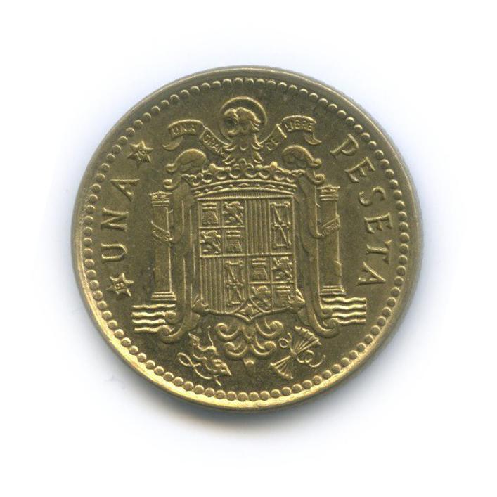 1 песета 1975 года 76 (Испания)