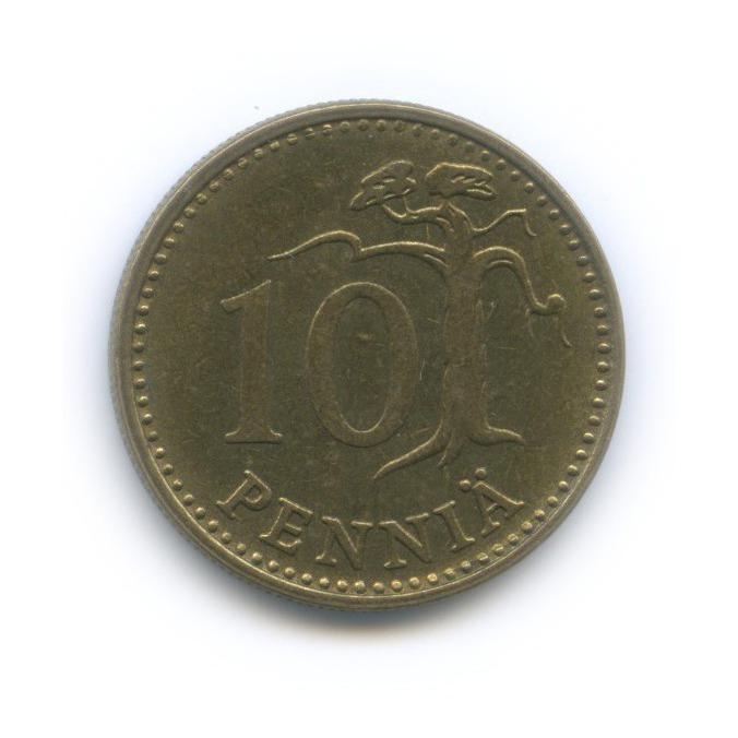 10 пенни 1971 года (Финляндия)