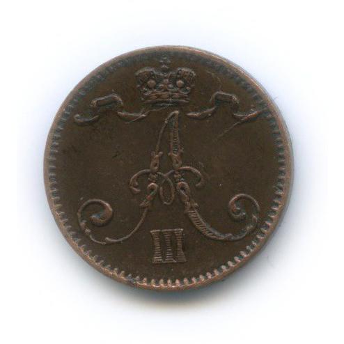 1 пенни 1892 года (Российская Империя)