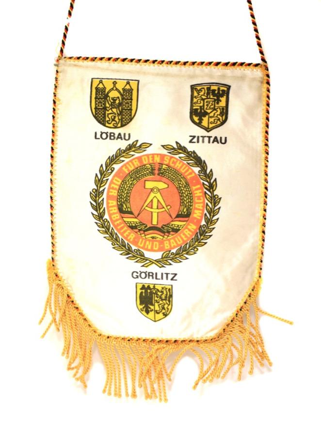 Вымпел «Offiziershochschule der Landstreitkräfte «Ernst Thälmann» (25 см) (Германия (ГДР))