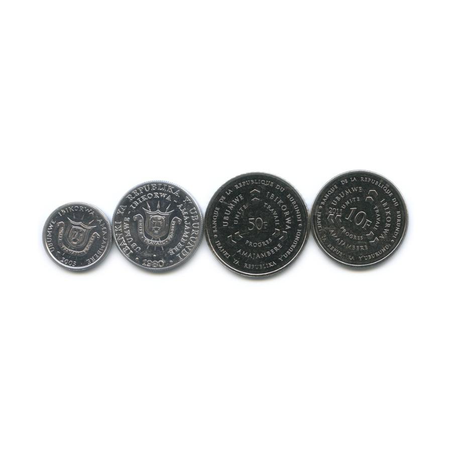 Набор монет (Бурунди)