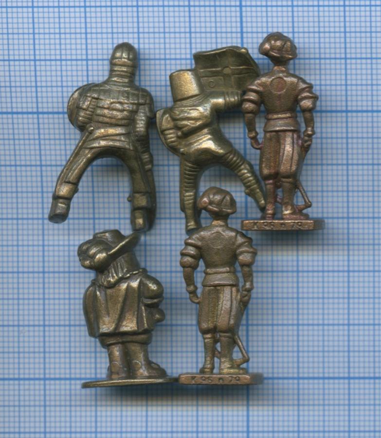 Набор солдатиков (номерные, тяжелый металл)