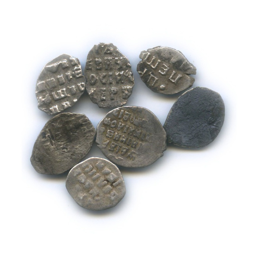 Набор монет («чешуя»)
