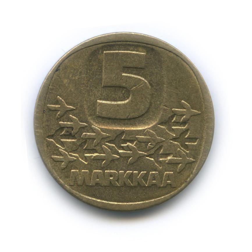 5 марок 1986 года (Финляндия)
