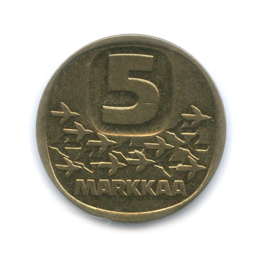 5 марок 1990 года (Финляндия)