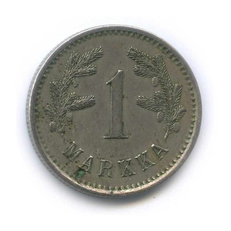 1 марка 1922 года (Финляндия)