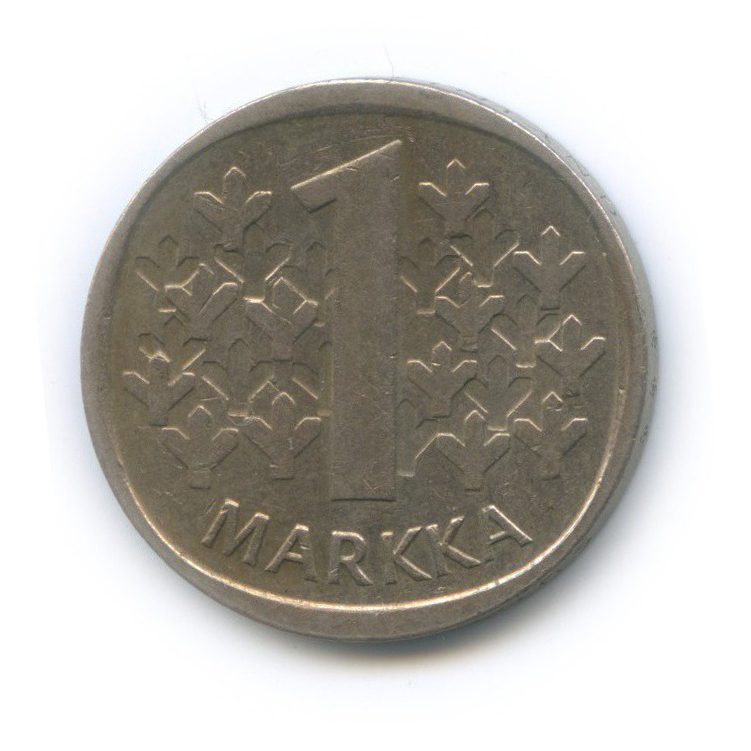 1 марка 1984 года (Финляндия)
