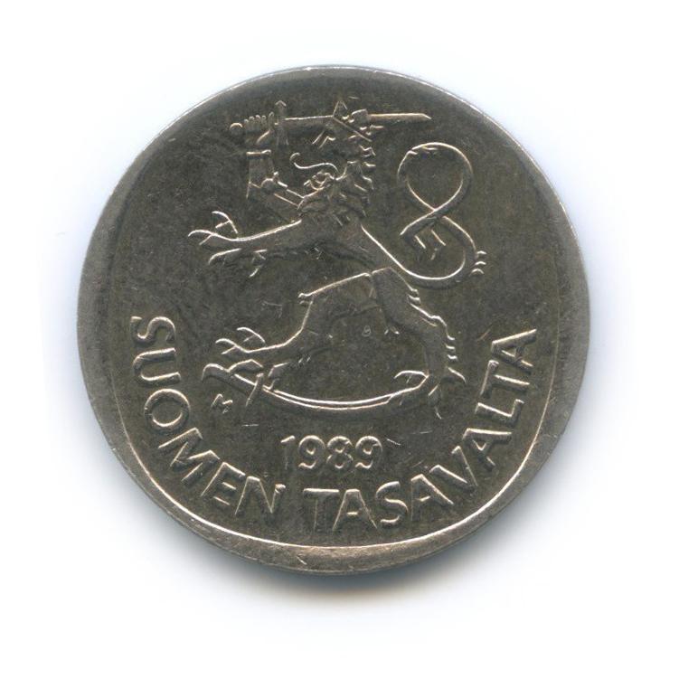 1 марка 1989 года (Финляндия)