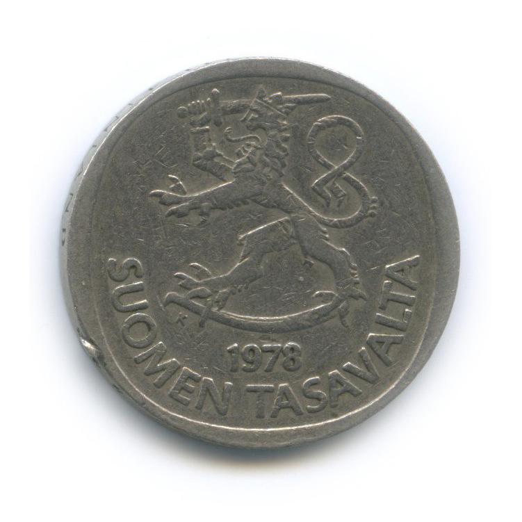 1 марка 1978 года (Финляндия)