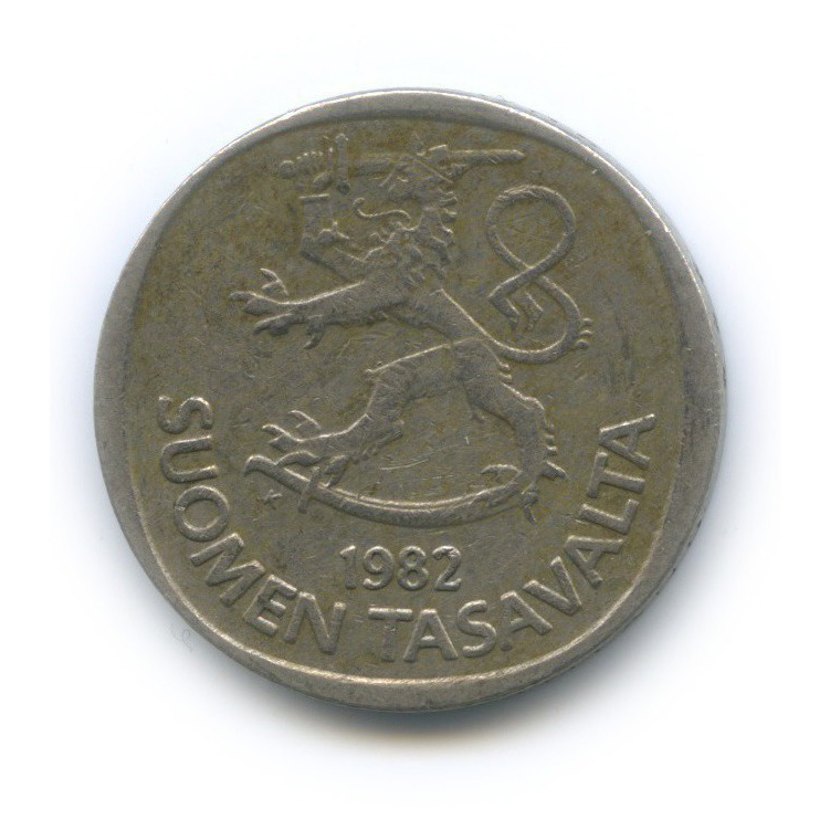 1 марка 1982 года (Финляндия)