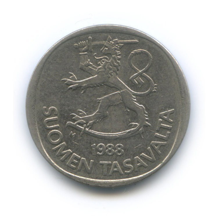 1 марка 1988 года (Финляндия)