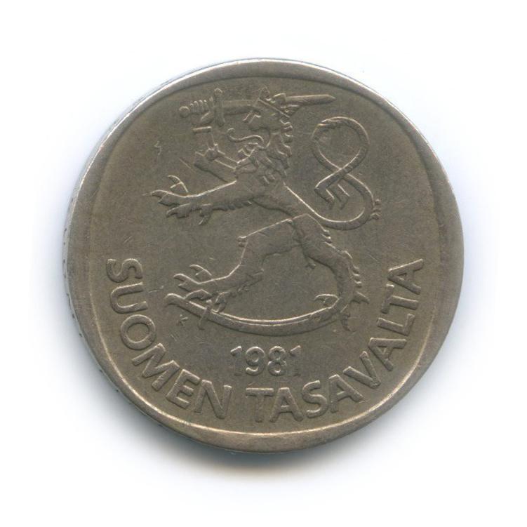 1 марка 1981 года (Финляндия)
