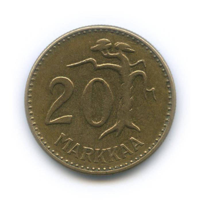 20 марок 1960 года (Финляндия)