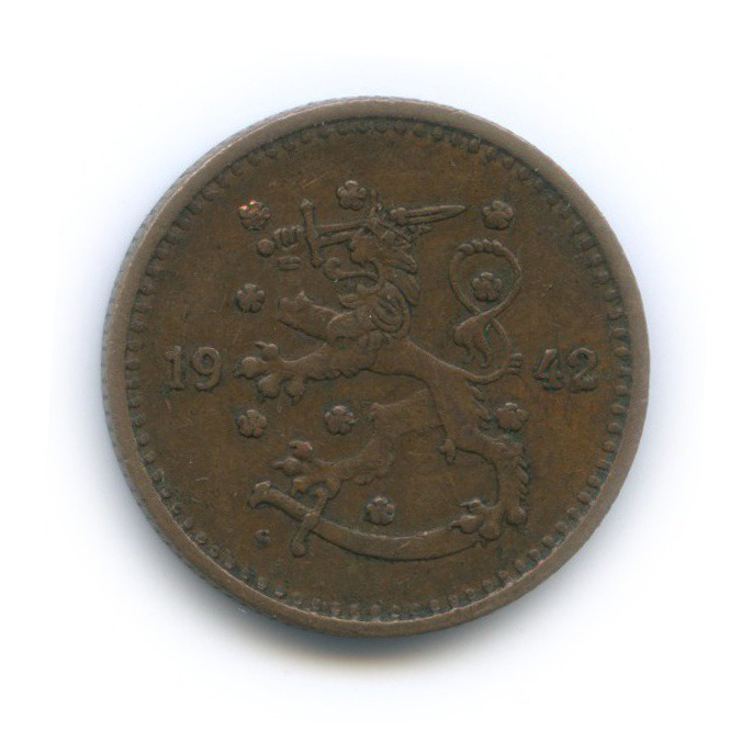 1 марка 1942 года (Финляндия)