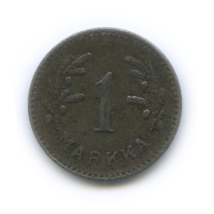 1 марка 1951 года Fe (Финляндия)