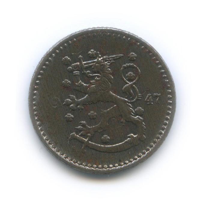 1 марка 1947 года (Финляндия)