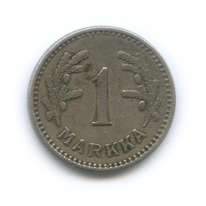 1 марка 1928 года (Финляндия)