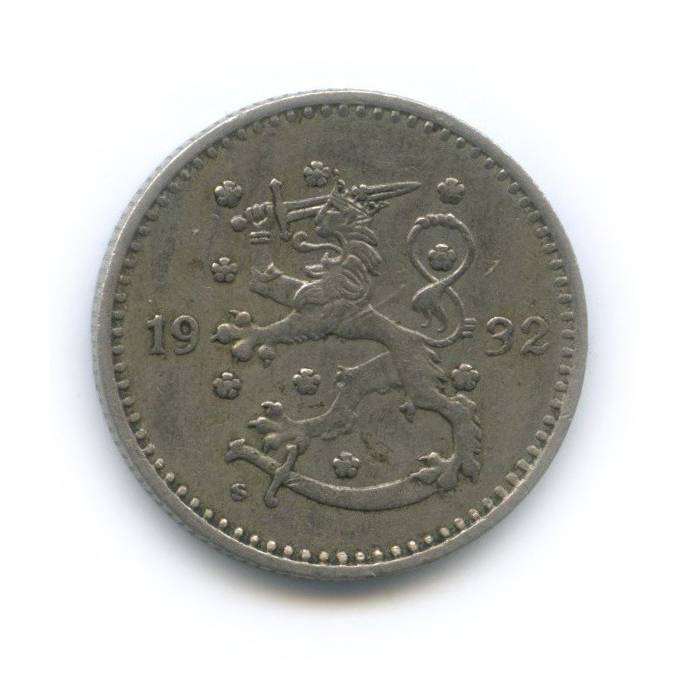 1 марка 1932 года (Финляндия)