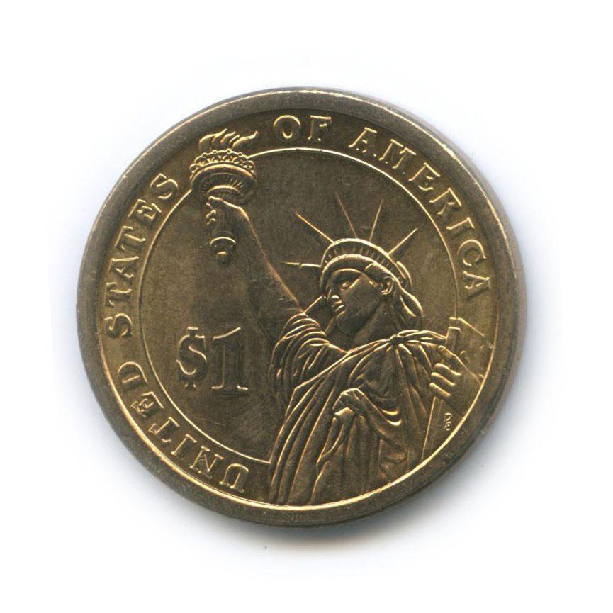 1 доллар — 17-ый Президент США - Эндрю Джонсон (1865-1869) 2014 года P (США)