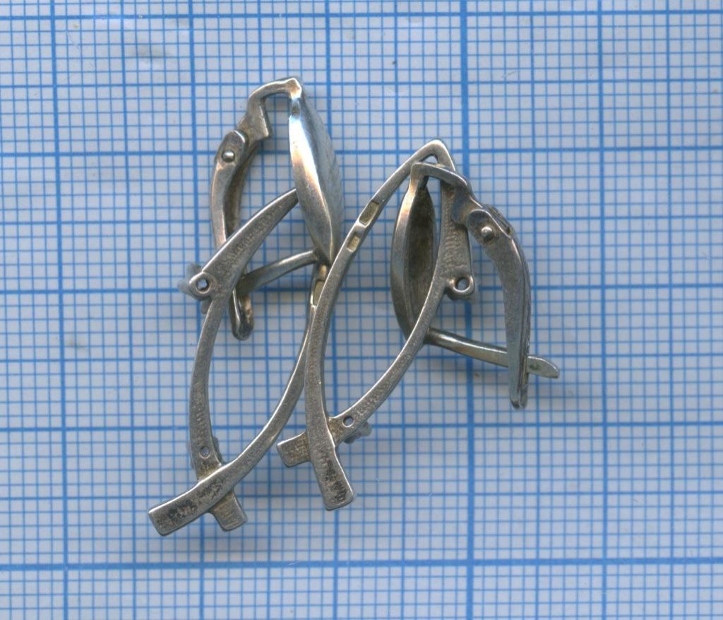 Серьги (серебро 925 пробы)