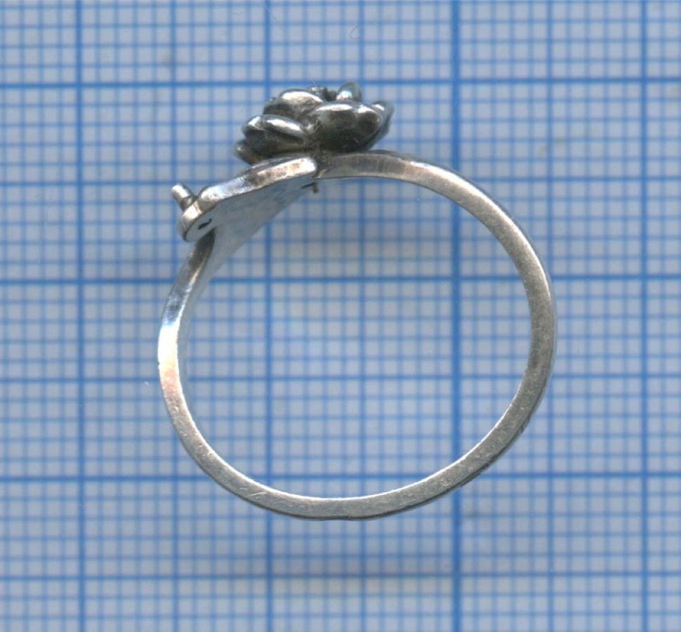 Кольцо (серебро 925 прбы)