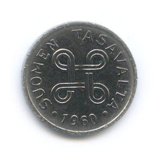 1 марка 1960 года (Финляндия)