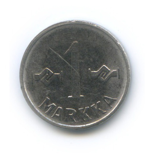 1 марка 1956 года (Финляндия)