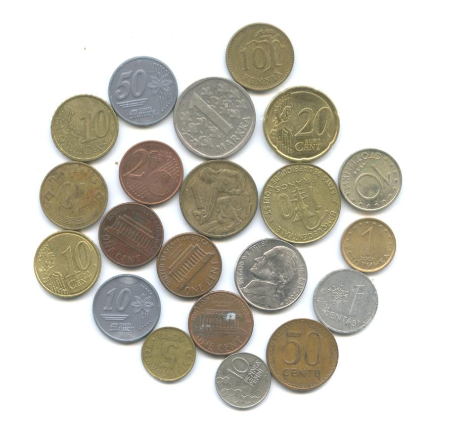 Набор монет (с жетонами, разные страны)