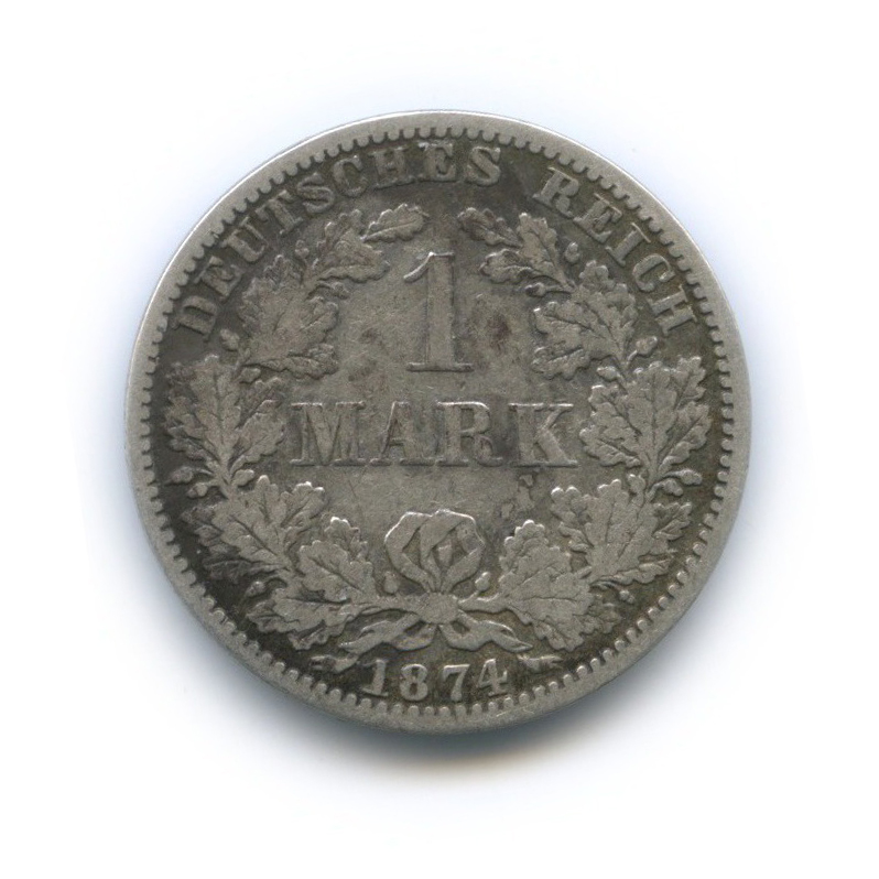 1 марка 1874 года А (Германия)