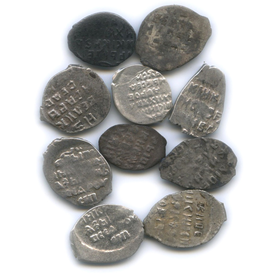 Набор монет 1 копейка
