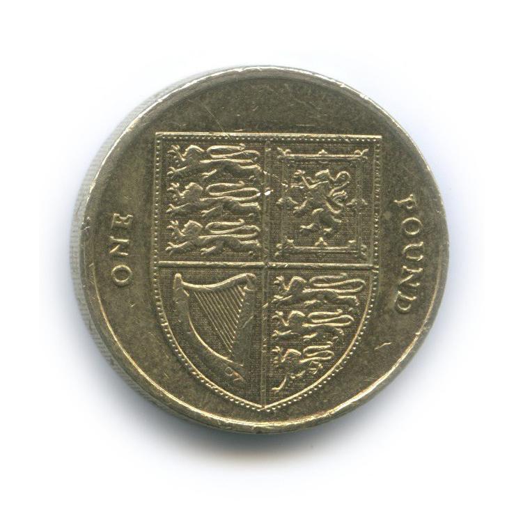 1 фунт 2013 года (Великобритания)