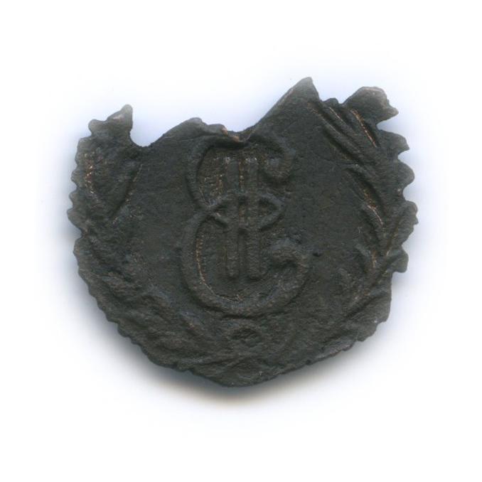 Денга (1/2 копейки), часть монеты 1778 года КМ (Российская Империя)