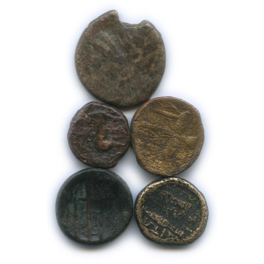 Набор монет (Греция, Македония, Карфаген, Сиракузы)