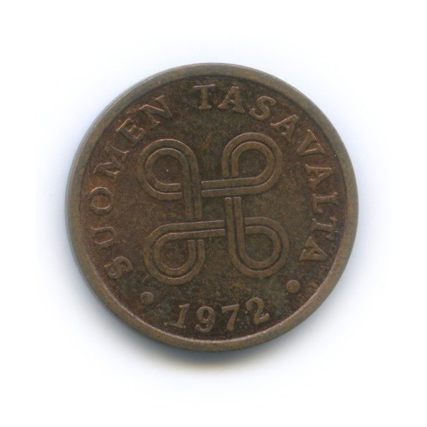 5 пенни 1972 года (Финляндия)