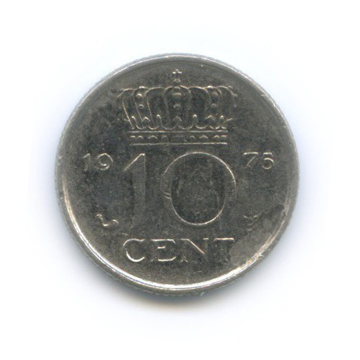 10 центов 1975 года (Нидерланды)