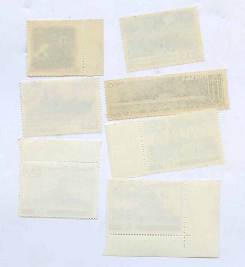 Набор почтовых марок «Корабли» (СССР)