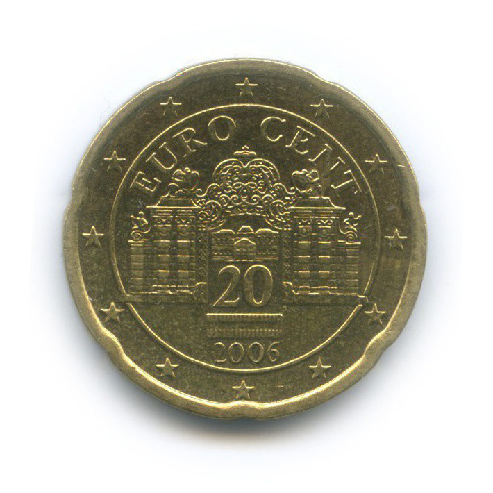 20 центов 2006 года (Австрия)