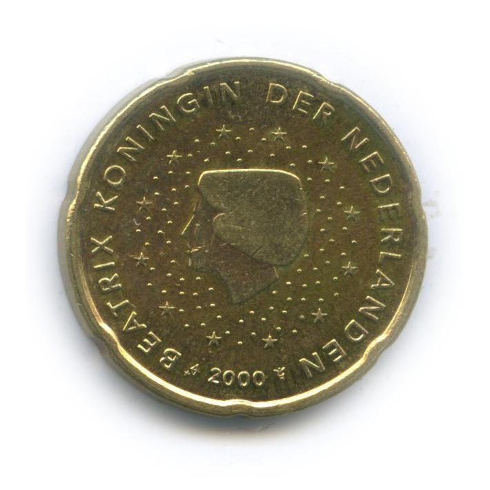 20 центов 2000 года (Нидерланды)