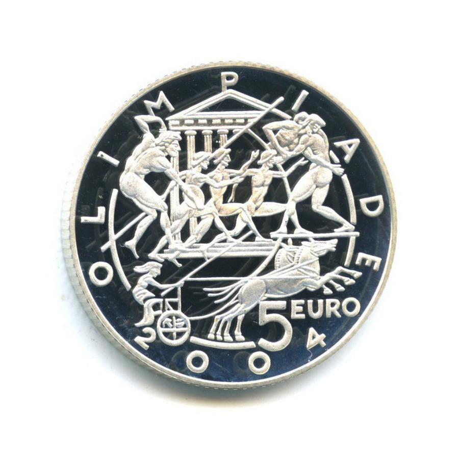 5 евро - XXVIII летние Олимпийские игры, Афины 2004 2003 года (Сан-Марино)