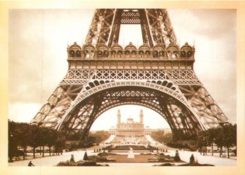 Карточка почтовая «Эйфелева башня» (копия)